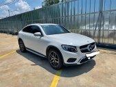 Bán xe Mercedes GLC300 Coupe trắng, nội thất nâu 2018 siêu lướt. Có hỗ trợ trả góp ưu đãi giá 2 tỷ 780 tr tại Tp.HCM