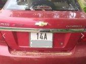 Cần bán gấp Chevrolet Aveo MT đời 2013, màu đỏ số sàn, máy khỏe giá 220 triệu tại Quảng Ninh