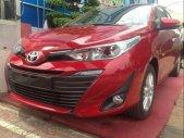 Bán Toyota Vios năm sản xuất 2019, màu đỏ, giá chỉ 566 triệu giá 566 triệu tại Kiên Giang