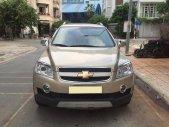 Cần bán xe Chevrolet Captiva 2010 số sàn máy dầu, màu vàng cát, giá 396 triệu tại Tp.HCM