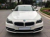 Chính chủ bán BMW 520i màu trắng kem SX 2015, cửa hít, màn NBT, loa Harman giá 1 tỷ 355 tr tại Hà Nội