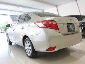 Cần bán xe Toyota Vios 1.5 sản xuất 2018, màu vàng cát, odo: 23.000 km, xe đẹp giá 475 triệu tại Tp.HCM
