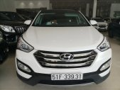 Cần bán Hyundai Santafe cuối 2015 2.4AT, Odo: 47.000 km, màu trắng xe cực đẹp. giá 870 triệu tại Tp.HCM