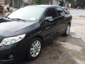 Bán xe Toyota Corolla altis 2.0 đời 2009, màu đen chính chủ giá 420 triệu tại Phú Thọ