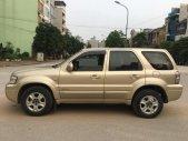 Nhà đổi xe cần bán Ford escape 2005, số tự động 3.0, màu vàng cát giá 178 triệu tại Tp.HCM