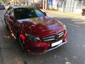 Mình bán Mercedes C300 AMG 2017 full option, màu đỏ lộc giá 1 tỷ 670 tr tại Tp.HCM