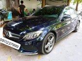 Cần bán xe Mercedes C300 AMG ĐK t5/2017, màu xanh Cavansite cực hot giá 1 tỷ 450 tr tại Hà Nội