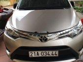 Bán Toyota Vios năm sản xuất 2016, màu vàng, giá chỉ 485 triệu giá 485 triệu tại Yên Bái