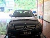 Gia đình bán Mercedes C200 đời 2008, màu đen, nhập khẩu giá 390 triệu tại Hà Nội