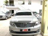 Cần bán Toyota Fortuner V 4x2 đời 2016, màu bạc, giá tốt giá 840 triệu tại Tp.HCM