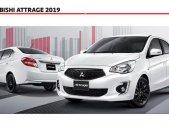 Bán ô tô Mitsubishi Attrage đời 2019, màu trắng, nhập khẩu nguyên chiếc, 375tr giá 375 triệu tại Quảng Nam