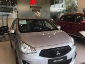 Bán ô tô Mitsubishi Attrage đời 2019, màu bạc, xe nhập khẩu, 375 triệu, hỗ trợ trả góp 80% giá 375 triệu tại Quảng Nam