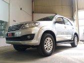 Cần bán gấp Toyota Fortuner V 4x2 2012, màu bạc, giá tốt giá 680 triệu tại Tp.HCM