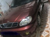 Cần bán xe Daewoo Lanos đời 2001, màu đỏ, nhập khẩu nguyên chiếc giá 58 triệu tại Thái Nguyên