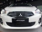 Cần bán xe Mitsubishi Attrage năm sản xuất 2019, màu trắng, nhập khẩu - Có sẵn xe - Giao nhanh giá 460 triệu tại Quảng Ninh