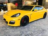 Cần bán xe Porsche Panamera 3.6 V6 sản xuất 2010, màu vàng, nhập khẩu giá 1 tỷ 850 tr tại Hà Nội