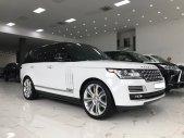 Range Rover HSE 3.0V6 màu trắng nội thất kem, xe đã lên đồ SVautobio, sản xuất cuối 2014, đăng ký 2015 giá 3 tỷ 900 tr tại Hà Nội