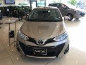 Cần bán xe Toyota Vios 1.5E CVT đời 2020, màu vàng cát, khuyến mại sốc giá 570 triệu tại Hà Nội