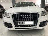 Bán nhanh Audi Q5 màu trắng, xe sản xuất 2013, đăng ký 2014, tư nhân một chủ từ đầu giá 950 triệu tại Hà Nội