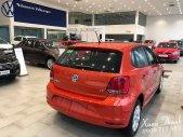 Bán ô tô Volkswagen Polo E 2018, màu đỏ, xe nhập Khuyến mãi 100% phí Trước bạ giá 695 triệu tại Tp.HCM