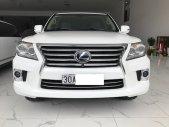 Bán Lexus LX570 trắng, bản xuất Mỹ model 2014, đăng ký cá nhân một chủ từ đầu giá 3 tỷ 600 tr tại Hà Nội