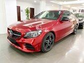 Bán Mercedes C300 AMG 2020 màu đỏ siêu lướt, giá cực tốt - xe cũ chính hãng giá 1 tỷ 750 tr tại Hà Nội
