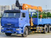 Xe tải cẩu Kamaz 65117 (6x4) gắn cẩu Dinex 7 tấn  giá 1 tỷ 650 tr tại Tp.HCM