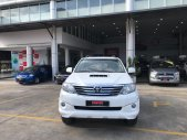 Cần bán gấp Toyota Fortuner 2.5G sản xuất 2015, màu trắng Biển SG đô 179.000km GIá tốt giá 660 triệu tại Tp.HCM