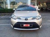 Cần bán Toyota Vios 1.5G 2016, màu nâu vàng, biển SG chuẩn chỉ 79.000km giá 490 triệu tại Tp.HCM