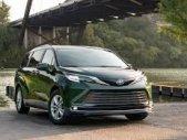 Bán xe Toyota Sienna Platinum sản xuất  2021 màu xanh nhập Mỹ giá 4 tỷ 200 tr tại Hà Nội