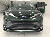 Bán xe Toyota Sienna Platinum sản xuất 2021, màu xanh lục, nhập khẩu Mỹ giá 4 tỷ 250 tr tại Hà Nội