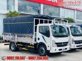 Xe Tải Nissan 3T5 Thùng Dài 4.3 Mét - Bán Trả Góp Xe Tải NS350 Thùng Bạt Inox 4.3 Mét Hỗ Trợ Vốn Ngân Hàng 80% giá 335 triệu tại Bình Dương