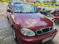 Bán ô tô Daewoo Lanos sản xuất 2002, màu đỏ xe gia đình, giá tốt giá 85 triệu tại Tiền Giang