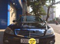 Cần bán lại xe Mercedes C200 năm sản xuất 2009, màu đen, giá chỉ 465 triệu giá 465 triệu tại Hà Nội