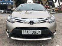 Bán Toyota Vios năm 2014 màu vàng, giá chỉ 435 triệu giá 435 triệu tại Hà Nội
