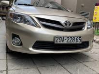 Bán ô tô Toyota Corolla altis 2.0 sản xuất năm 2011, màu vàng số tự động, giá chỉ 550 triệu giá 550 triệu tại Hà Nội