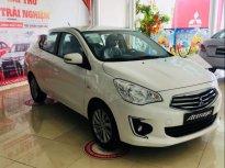 Bán xe Mitsubishi Attrage CVT Eco 2018, màu trắng, nhập khẩu nguyên chiếc giá 425 triệu tại Đà Nẵng