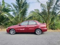 Bán ô tô Daewoo Lanos MT sản xuất năm 2003, màu đỏ, nhập khẩu giá 85 triệu tại Tiền Giang