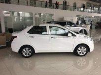 Bán xe Hyundai Grand i10 1.2 năm sản xuất 2018, màu trắng giá cạnh tranh giá 350 triệu tại Hà Nội
