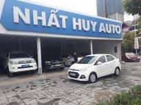Bán xe Hyundai i10 1.2MT sản xuất 2015, màu trắng, nhập khẩu nguyên chiếc giá 375 triệu tại Hà Nội