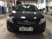 Cần bán Toyota Corolla altis đời 2010, màu đen chính chủ giá 492 triệu tại Hải Phòng