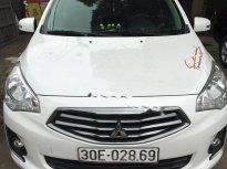 Cần bán xe Mitsubishi Attrage 1.2 sản xuất 2015, màu trắng, xe nhập   giá 340 triệu tại Hà Nội