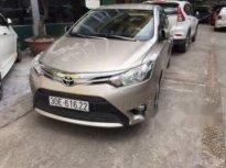 Cần bán Toyota Vios năm sản xuất 2016, màu vàng chính chủ, giá 470tr giá 470 triệu tại Hà Nội