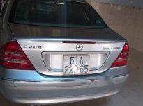 Bán Mercedes C200 2003, màu bạc, nhập khẩu giá 146 triệu tại Gia Lai