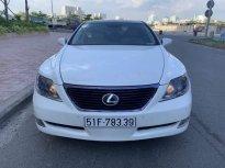 Bán xe Lexus LS 460L 2009, màu trắng, nhập khẩu nguyên chiếc  giá 1 tỷ 180 tr tại Tp.HCM
