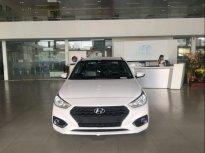 Bán Hyundai Accent 1.4MT Base đời 2018, màu trắng giá 450 triệu tại Đà Nẵng