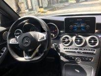 Bán Mercedes C300 AMG đời 2015, màu trắng   giá 1 tỷ 470 tr tại Tp.HCM