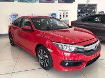 Cần bán xe Honda Civic 1.8E CVT năm sản xuất 2018, màu đỏ, nhập khẩu nguyên chiếc giá 786 triệu tại Bình Dương