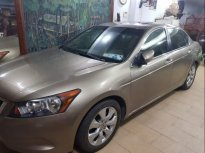 Cần bán Honda Accord sản xuất năm 2009, màu vàng, nhập khẩu xe gia đình, giá tốt giá 520 triệu tại Tp.HCM