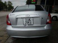 Bán Hyundai Verna màu bạc, đời 2008, xe nhập khẩu, nội ngoại thất đẹp, máy móc êm giá 195 triệu tại Thái Nguyên